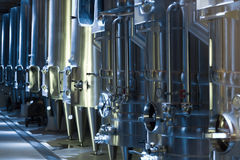 Equipment of  winery Stock Photography