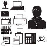 Equipment in work of secretary Royalty Free Stock Image