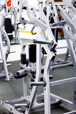 Equipments of gym Stock Images