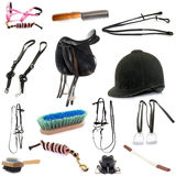 Equipments of horse riding Royalty Free Stock Image