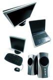 equipments komputerowych Zdjęcia Royalty Free
