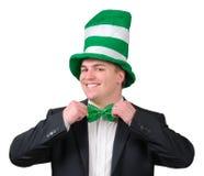 Equipo 2 del día del St. Patrick imagen de archivo