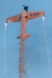 Equipo acrobático del tornado Aviones: tornado del silencio de 2 x Fotografía de archivo libre de regalías