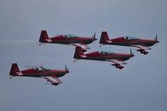 Equipo aeroacrobacia jordano Foto de archivo