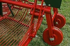 Equipo agrícola. Detalle   imágenes de archivo libres de regalías