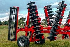 Equipo agrícola. Detalle 115 imagen de archivo libre de regalías