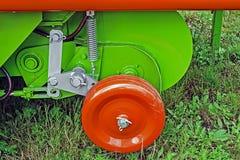 Equipo agrícola. Detalle 127 imagen de archivo libre de regalías