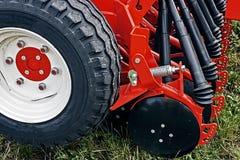 Equipo agrícola. Detalle 132 Imagen de archivo libre de regalías