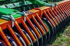 Equipo agrícola. Detalles 96 imagen de archivo libre de regalías