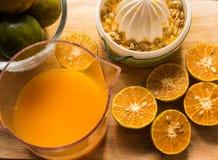 Equipo anaranjado Imagen de archivo