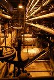 Equipo, cables y tubería Imagen de archivo