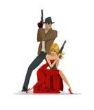 Equipo de agentes secretos libre illustration