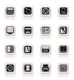 Equipo de alta tecnología y de la tecnología Imagen de archivo libre de regalías
