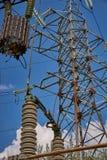 Equipo de alto voltaje Foto de archivo