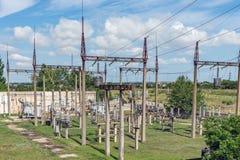 Equipo de alto voltaje Fotografía de archivo