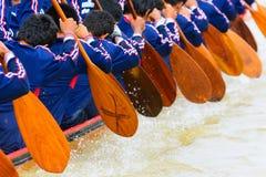 Equipo de barco de rowing foto de archivo libre de regalías