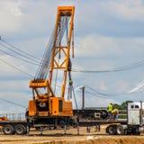Equipo de construcción pesado Foto de archivo libre de regalías