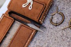 Equipo de costura Imagen de archivo