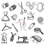 Equipo de costura Fotografía de archivo