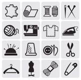 Equipo de costura del vector Imagenes de archivo