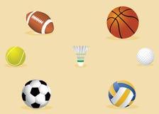 Equipo de deporte Foto de archivo libre de regalías