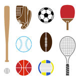 Equipo de deporte Imagen de archivo