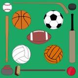 Equipo de deportes Foto de archivo