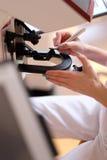 Equipo de diagnóstico fotografía de archivo libre de regalías