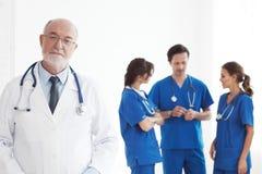 Equipo de doctores y de enfermeras Fotografía de archivo