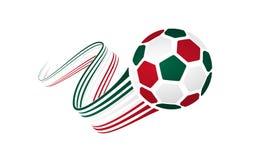Equipo de fútbol mexicano ilustración del vector