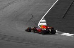 Equipo de F1 Redbull en Sepang Imágenes de archivo libres de regalías