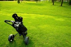 Equipo de golf Imágenes de archivo libres de regalías