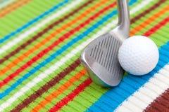 Equipo de golf Fotos de archivo