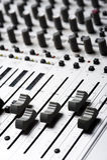 Equipo de grabación audio imagen de archivo