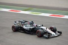 Equipo de Haas F1 Fotos de archivo