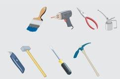 Equipo de herramientas Fotografía de archivo libre de regalías