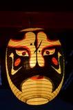 Equipo de iluminación tradicional de la linterna japonesa o de la lámpara de Japón Fotografía de archivo libre de regalías
