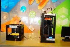 equipo de impresión 3D Fotografía de archivo libre de regalías