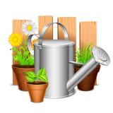 Equipo de jardín Imagen de archivo libre de regalías