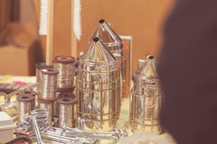 Equipo de la apicultura Foto de archivo libre de regalías