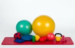 Equipo de la aptitud Imagen de archivo libre de regalías