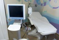 Equipo de la cama de hospital imagen de archivo libre de regalías