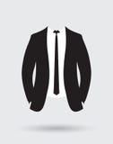 Equipo de la chaqueta del traje de los novios Imagen de archivo