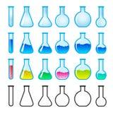 Equipo de la ciencia química Foto de archivo libre de regalías
