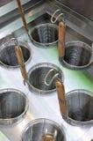 Equipo de la cocina Fotografía de archivo libre de regalías