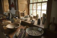 Equipo de la cocina Foto de archivo libre de regalías
