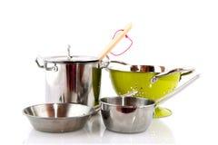 Equipo de la cocina Imagen de archivo
