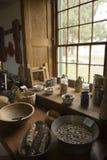 Equipo de la cocina de la coctelera Imagen de archivo libre de regalías