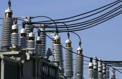 Equipo de la distribución de potencia Foto de archivo
