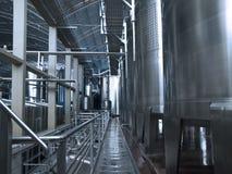Equipo de la elaboración de vino Foto de archivo libre de regalías